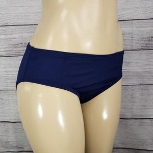 TYR 12 Swim Bikini Bottoms UPF 50+ NWT blue